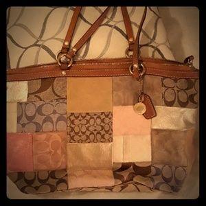 Patterned Coach Bag